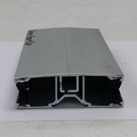 aluminum connectors for twinwall and multiwall polycarbonate